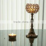 Crystal T-light Holder, T-light holder/crystal/crystal chandelier/votive candle/votive candle holder