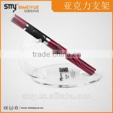 2014 SMY China supplier crylic e cigarette display for e cig/ atomzier/drip tip/ bottles