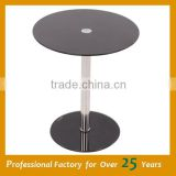 African coffee table simple design glass coffee table JC-01