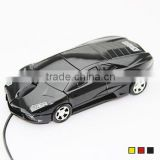 New 3D Car Shape Optical USB Wired Mouse Mice for Computer PC Laptop Notebook