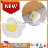 Decorative rubber door stopper cute egg shaped silicone baby door stoppers
