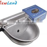 stainless steel float cow automatic water bowl drinking bowl
