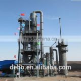 waste to energy Plant biomass gasification power plant wood pellet fluidized bed gasifier with generator