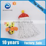 M-31009BW bleached white cotton mop with plastic clip