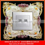 Customized Resin Socket Back Frame Sticker