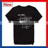 Custom your own brand low prices black man t shirt
