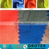 Protective clothing FR fireproof fabric for fire fighters / 150gsm inherent flame retardant Aramid fabric