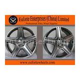 Black Car alloy Mercedes Benz Custom Wheels Luxury For E300L