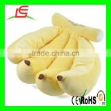 LE B095 Hot sale banana plush stuffed toys in fruit design for kids