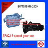 ZF/QJ Transmission 6 Speed  Gear Box S6-80/S6-90/S6-100/S6-150/S6-160/QJ1506/QJ1206 For Truck And Bus