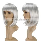 Short Wavy Hair Factory Wholesale Wig,Wholesale Big Body Wave Full Lace Wigs,Synthetic Hair Wigs for Men Price Dubaa