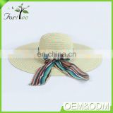 Summer fashion elegant design cheap custom sunhat lace girls women beach straw hat