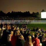 Giant open air screen inflatable projective screen clear screen for events