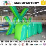 Inflatable tombstones for shooting game, inflatable paintball bunkers for play