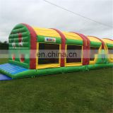 ninja long Obstacle bounce course equipment for adults
