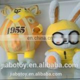 cartoon toy,cute stuffed &plush toy animal made of pp cotton with high quality for sale