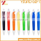 Wholesale promotional cheap custom print logo & text plastic ball point pen for Christmas gift