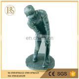 Golf movement statue
