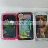 3d cell phone case/cover phonecases pp/pvc phonecases for wholesale