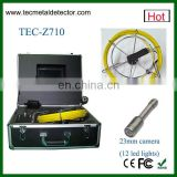 Economical sewer line camera, sewer pipe inspection camera with cheap price TEC-Z710