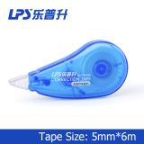 School Green Colored Correction Tape 6M Plastic Student Correction Supplies