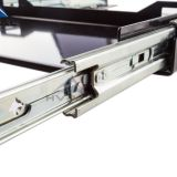 53 mm heavy duty Rated Over 100kg Locks in & out 60L Fridge Slide