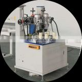 Automatic thermal break aluminum knurling machine with strip feeder