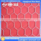 Small Wire Bird Cage Cow Cage Pvs Coated Hexagonal Wire Mesh 12Mm X 12Mm