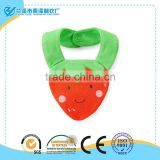 Strawberry Terry Teething Bib