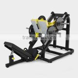 linear leg press/tz-6078/hammer strength gym equipment /body building plate loaded fitness machine/factory directly sale