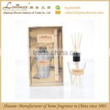 Aroma reed diffuser/ 60ml reed diffuser with rattan sticks/ good quality package
