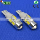 Attention!!! Newest and latest 5630 10smd LEDs T10 car interior auto light with projector lens