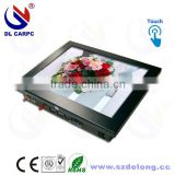 Hot Sale MINI 10.4 Inches Industrial Fanless LCD Touch All In One Rackmount Industrial PC