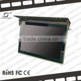 22 inch lcd bus ad monitor led sign board display screen usb video poster display ceiling stype tv lcd/led tv mount