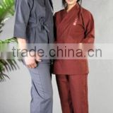 cheap bathrobe best selling in Japan satin kimono gown