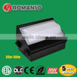 Super brightness samsumg smd chip high power outdoor 120 watt wallpack led uplights for sale