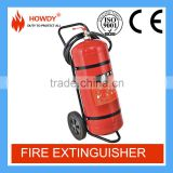 2016 Latest 50kg trolley dcp fire extinguisher /ABC fire extinguisher power Prices