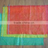 durable and color printing pp mesh bag manufacturer for apples/peach/pear/potatoes/onions/tomatoes