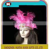 custom party headwear in 2016 feather headdress and the wholesale headdress indian