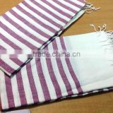 Well absorbed fouta beach towel light weight travel sauna spa gym hamam peshtemal turkish bath towel bathrobe