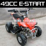 49cc mini quad atv 50cc atv with electric start for kids