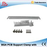 BGA Jig, BGA Fixture, BGA PCB Support Clamp with (x4pcs) Bottom support clamp with hook For IR6000 IR6500