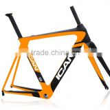 2014 carbon racing bike frame carbon road bike frame aero super light bike frame aero007