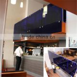 Laminated glass for kitchen partition