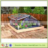 Outdoor or Indoor Double lids transparent mini green house for garden flower plant-GH2031