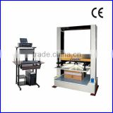 KS-CT50KA Computerized Boxes Carton Bursting Strength Test Equipment / Carton Compressive Strength test machine