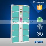 Digital Locker Electronic Storage Cabinet Steel Deposit Cabinet for Outdoor Public Places