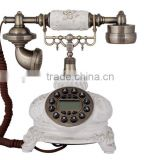 European retro fashion creative pastoral ceramic telephones antique telephones telephone Alice