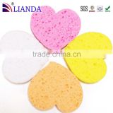 Professional Make Up Facial Sponge,Natural Cellulose Sponge Face Cleaning