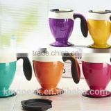 2016 Best Selling coffee suction cups/Non Spill Suction cup/ Spill off mighty mug/coffee travel coffee mugs joyshakers